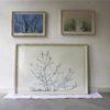Sandra Kruisbrink werken in lijst – installatiefoto