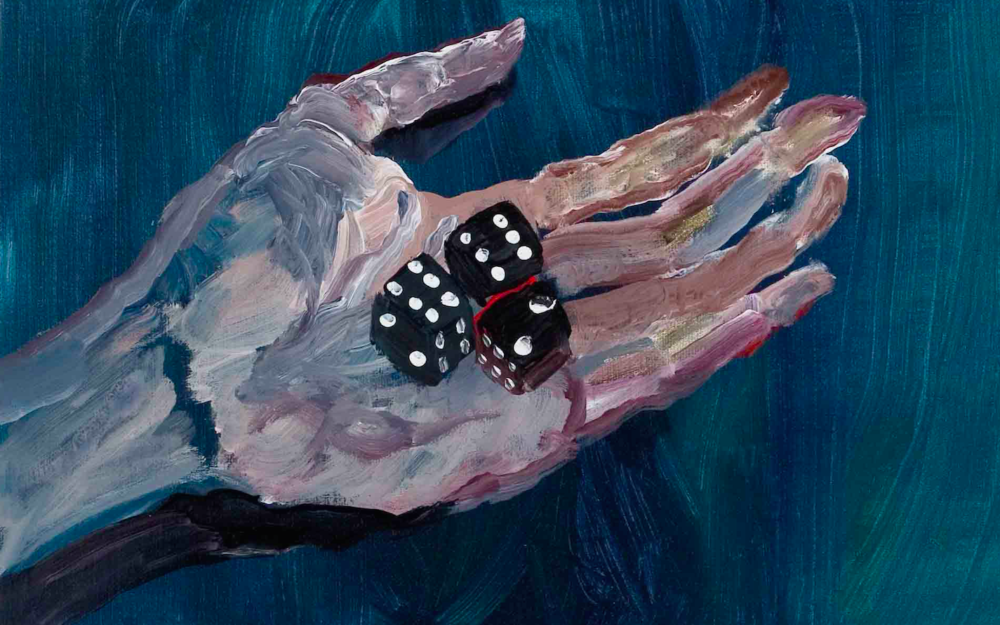 Eva Raeder Hand with Dice