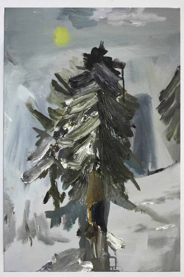Eva Raeder Tanne 60 x 40 cm