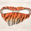 5-2014 – Thijs Jansen – Ets – Chantal – handingekleurd op hahnemuhle 300 grams etspapier – 23 x 28 cm (papier)