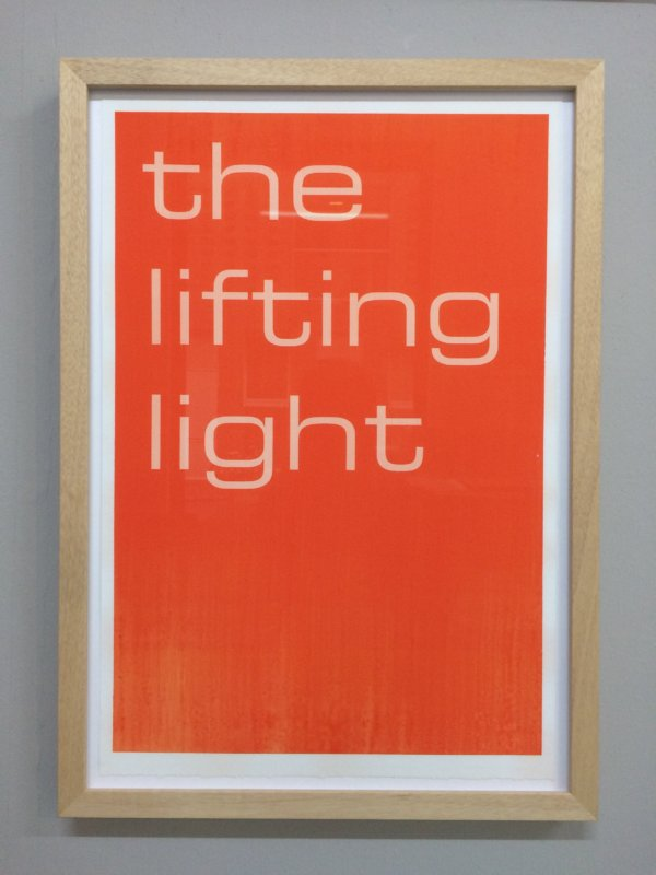 TIM AYRES the lifting light, in lijst