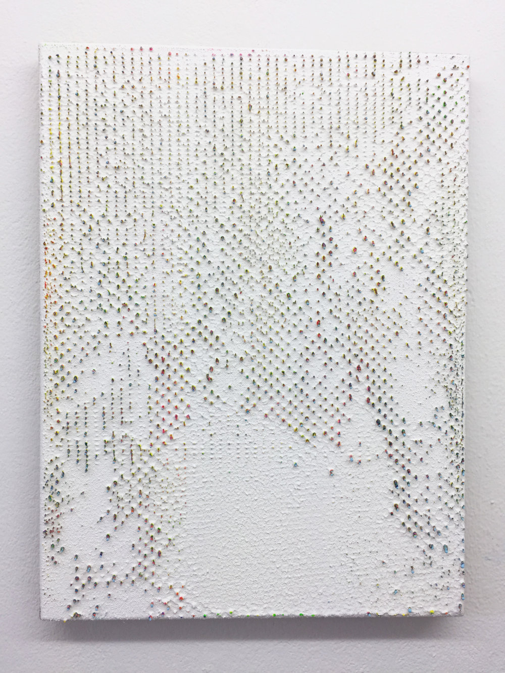 holzwege 2, 40 x 30 cm, acryl op doek 2018