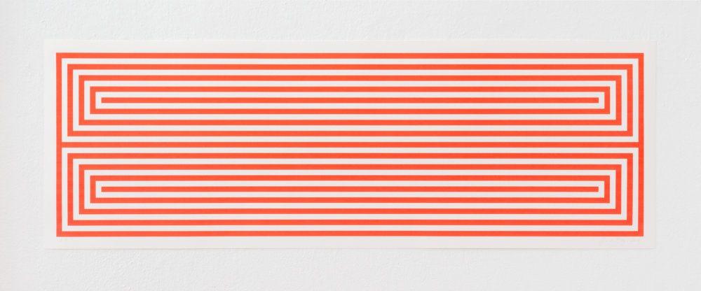 Jan van der Ploeg, Untitled, 2019, 37.5 x 110 cm., silk Screenprint, edition of 20