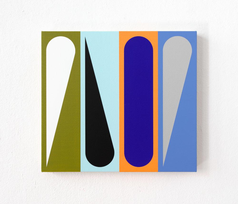 20-15 Jan van der Ploeg, PAINTING No.20-15, Untitled, 2020, 36,25 x 40 cm., acrylic on canvas