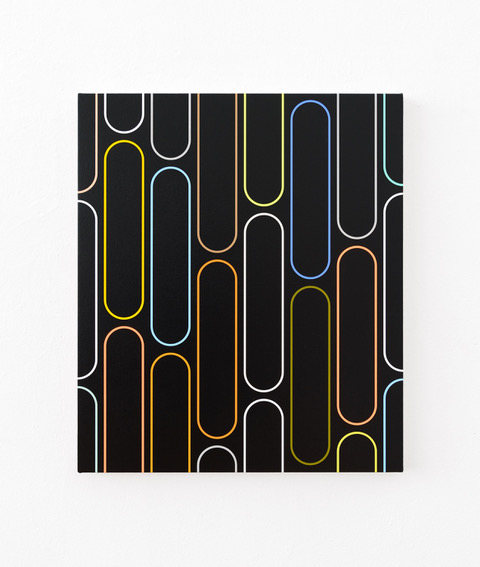 20-29 Jan van der Ploeg, PAINTING No.20-29, Untitled (THE NEW NORMAL), 2020, 57 x 49 cm., acrylic on canvas