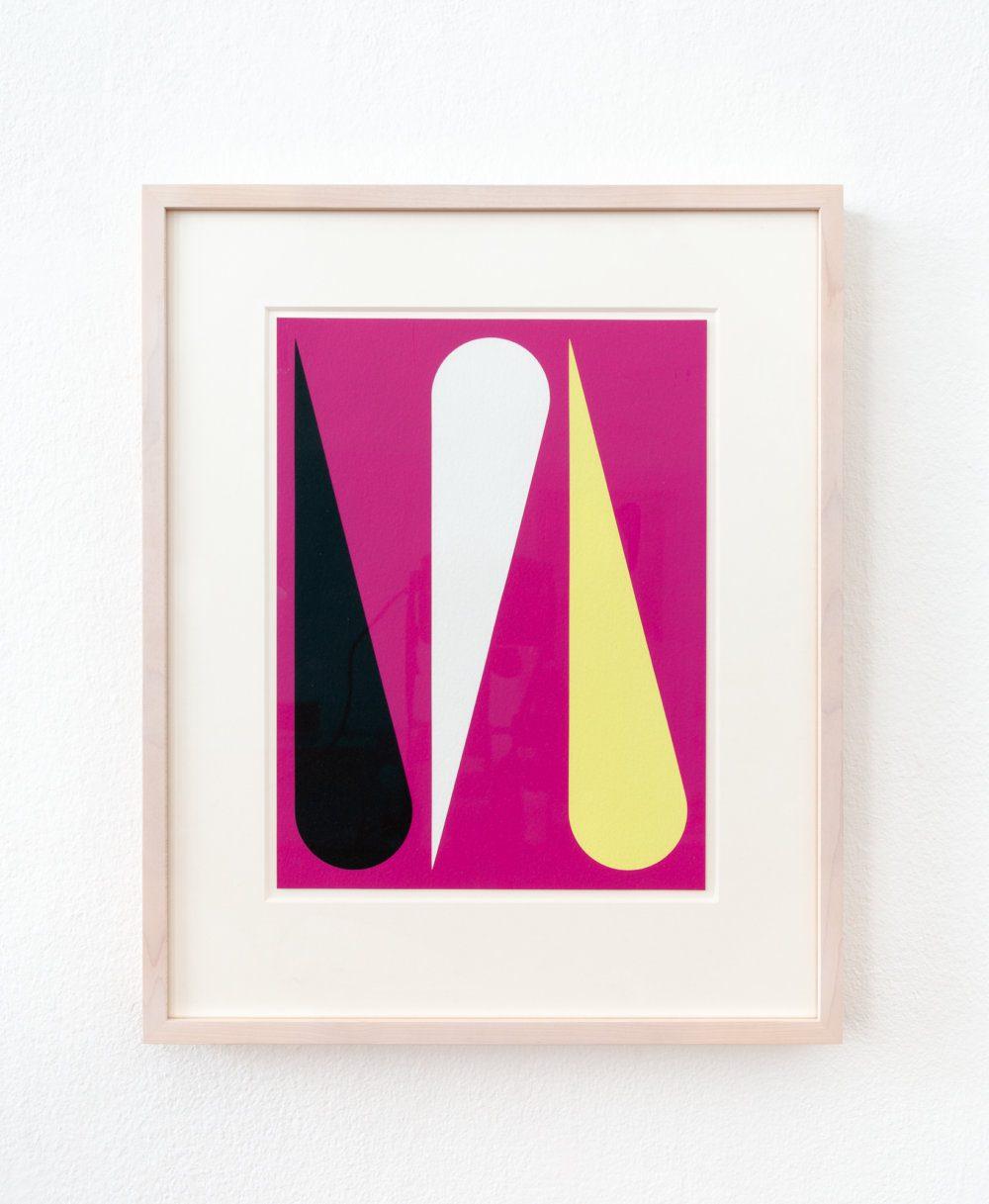 2017-12 Jan van der Ploeg WORK ON PAPER No.2017-12, Untitled, 2017, 29 x 22 cm., acrylic on paper in frame-Edit