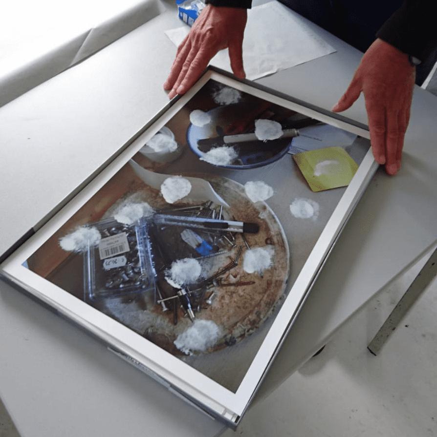 Editie Klaas Kloosterboer – in het atelier