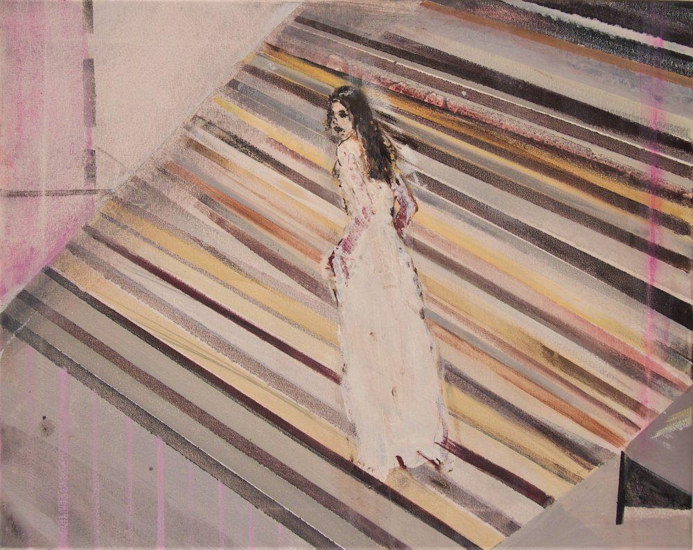Lilian Eliens, Ascension, 40×50 cm, acryl op doek, 2020