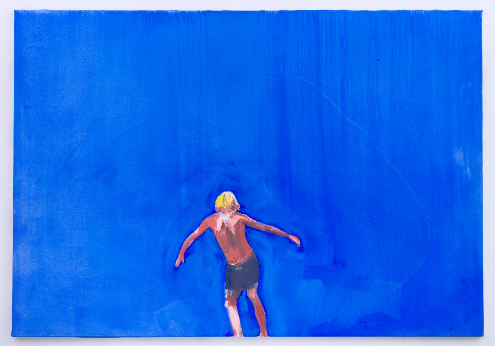 Michiel Hogenboom, Zig Zag Wanderer, 125 x 180 cm