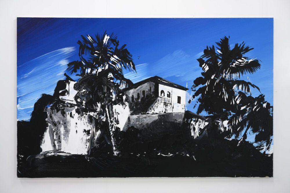 Hans Broek, Fort Santo, Antonio, Axim', 125 x 200 cm, 2020