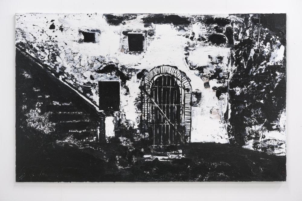 Hans Broek, Vrouwenkerker, fort Santo Antonio, Axim, 125 x 200 cm, 2020