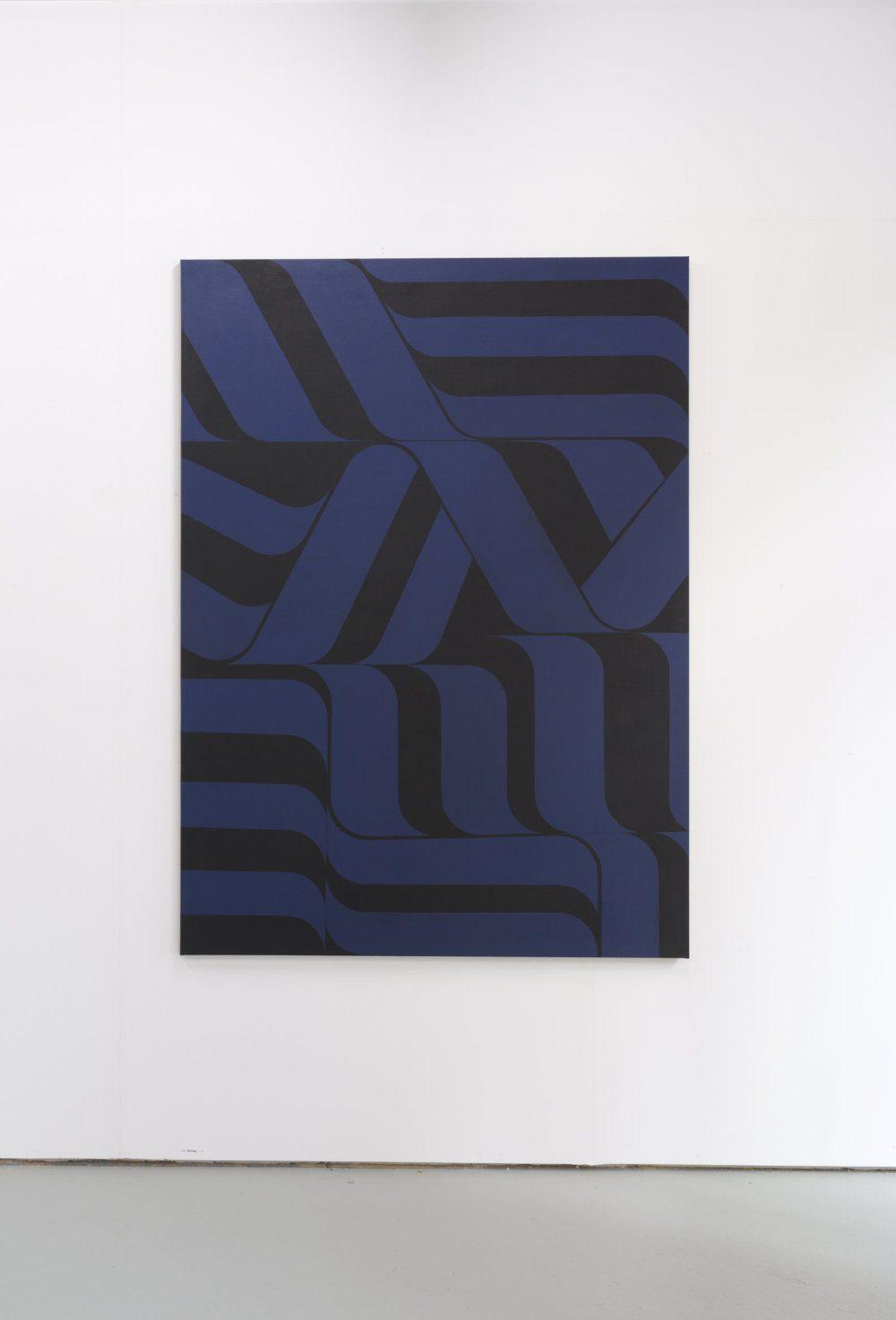 Harry Markusse schilderij 180 x 130 cm