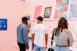 Presentatie We Like Art @ Art Rotterdam 2021 met Hadassah Emmerich